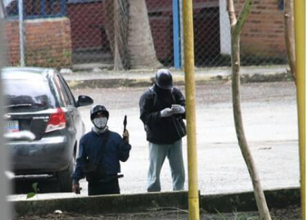 Foto: Sujetos encapuchado y armado ingresaron a la ULA Trujillo / Leonardo León?