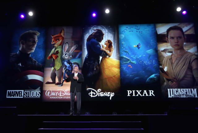 ANAHEIM, CA - JULY 14: Chairman, The Walt Disney Studios, Alan Horn took part today in the Walt Disney Studios animation presentation at Disney's D23 EXPO 2017 in Anaheim, Calif. Jesse Grant/Getty Images for Disney/AFP