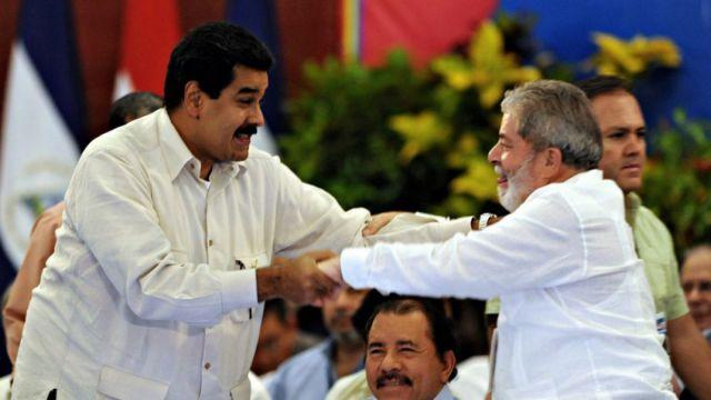 Maduro y Lula / Foto: EFE