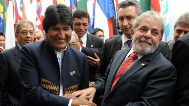 Evo y Lula / Foto: EFE