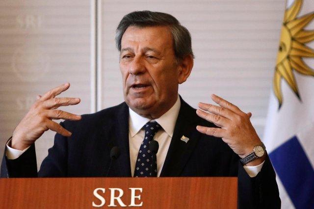 El ministro de Relaciones Exteriores uruguayo, Rodolfo Nin Novoa. REUTERS/Edgard Garrido