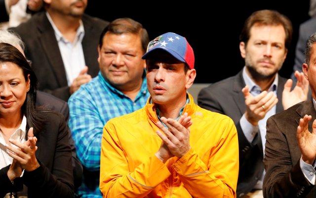 El gobernador del estado Miranda, Henrique Capriles. REUTERS/Carlos Garcia Rawlins