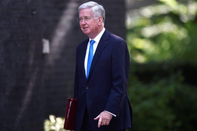 El ministro de Defensa británico, Michael Fallon. REUTERS/Hannah McKay