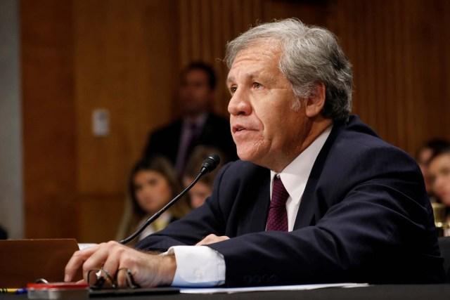 El secretario general de la OEA, Luis Almagro. REUTERS/Aaron P. Bernstein