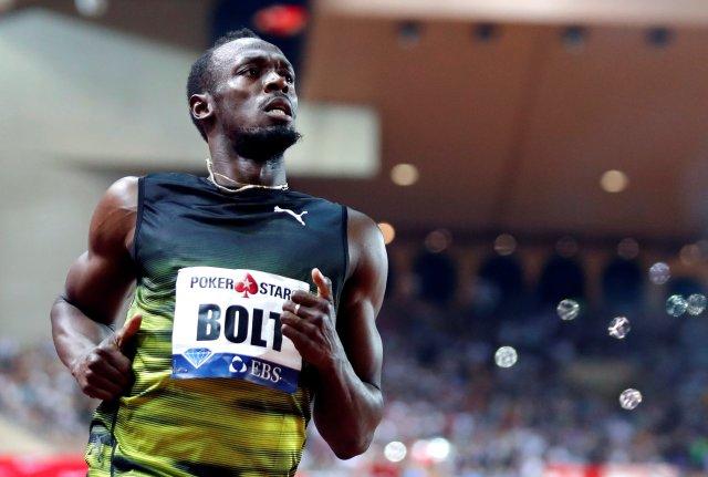 El atleta jamaiquino Usain Bolt. REUTERS/Eric Gaillard