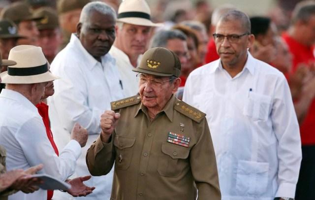 El presidente de Cuba, Raúl Castro. REUTERS/Alejandro Ernesto/Pool