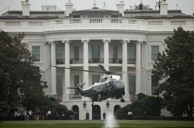 Imagen de archivo de la Casa Blanca en Washington. 5 de julio de 2017. REUTERS/Joshua Roberts