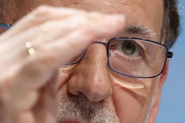 El presidente del Gobierno, Mariano Rajoy (Foto EFE/Sergio Barrenechea)