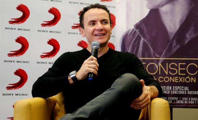 El cantautor colombiano, Fonseca (Foto: EFE)