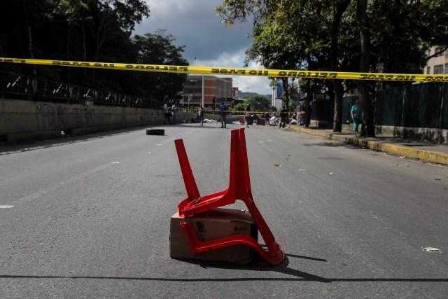CAR19. CARACAS (VENEZUELA), 26/07/2017.- Vista de calles, avenidas y autopistas parcialmente vacías hoy, miércoles 26 de julio de 2017, durante la huelga general de 48 horas en Caracas (Venezuela). La oposición venezolana ha convocado a una huelga general de 48 horas en todo el país que se inicia hoy como parte de las manifestaciones en contra de la Asamblea Nacional Constituyente que impulsa el Gobierno para cambiar la Carta Magna. EFE/Miguel Gutiérrez