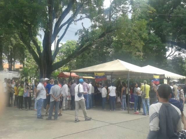 Altagracia de Orituco participa masivamente en la consulta popular / Foto: Tania Spinelli