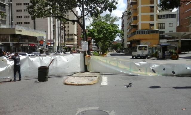 Foto: Trancazo en la avenida Rómulo Gallegos  / Daniel Colina
