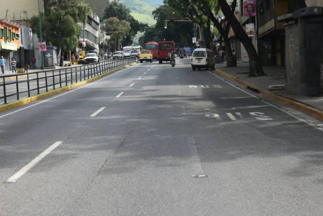 El Silencio y la avenida Baralt de Caracas, miércoles 26 de julio. Foto: Regulo Gómez - LaPatilla.com