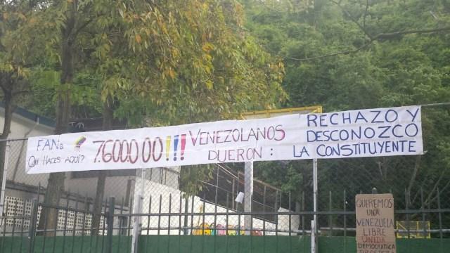 Colegio San Luis Amigo en Colinas de Bello Monte, Caracas / Foto  @jlpadron1964