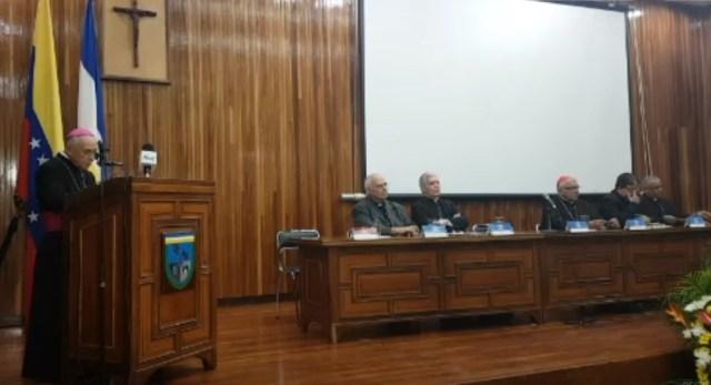 Monseñor Padrón instala la Asamblea Ordinaria Plenaria del Episcopado Venezolano