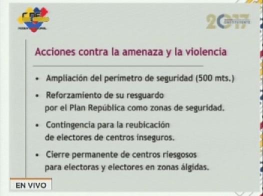 Foto: Seguridad desplegada para la elección de la Asamblea Nacional Constituyente / VTV