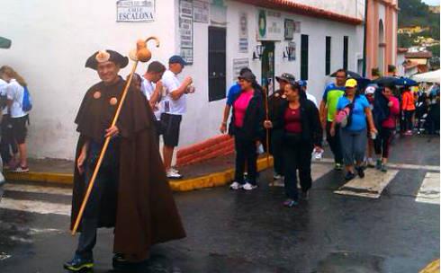 Este sábado se realizarán la XII edición del Camino de Santiago