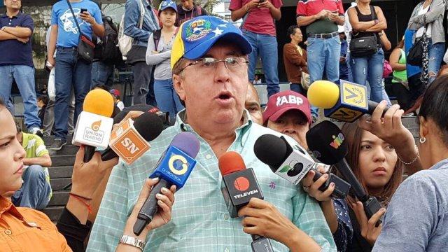 Pérez Vivas: Padrino López es responsable del baño de sangre ocurrido en la jornada fraudulenta / Foto: Nota de prensa