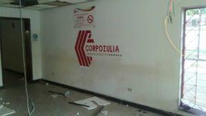 Sede de Corpozulia en Machiques fue saqueada y quemada