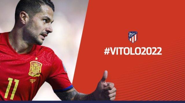 Vitolo. Foto: Twitter/@Atleti