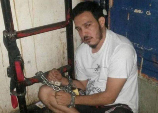 Wilmer Azuaje, preso político recluido en El Helicoide