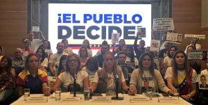 Esposas de presos políticos piden a venezolanos que acudan a consulta soberana este #16Jul