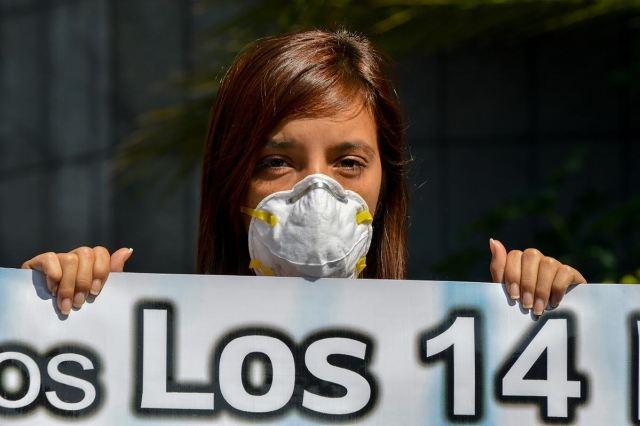 Foto: Familiares de los 14 Polichacao iniciaron huelga de hambre / nota de prensa
