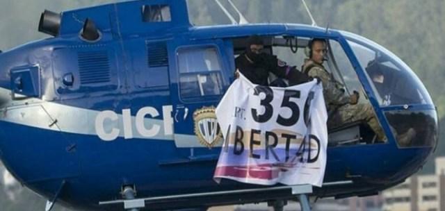 Helicóptero de Oscar Pérez