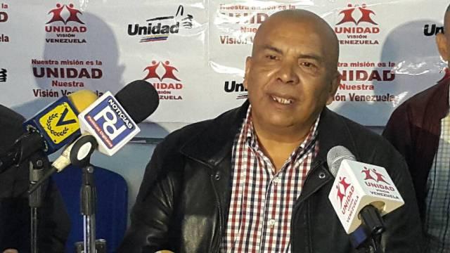 El secretario de organización Nacional de Unidad Visión Venezuela, Tony Tovar