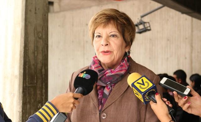 La jurista venezolana, dra. Cecilia Sosa Foto: Prensa Bloque Constitucional de Venezuela