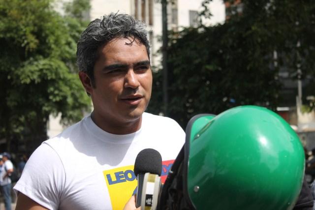 El concejal de Baruta Luis Somaza
