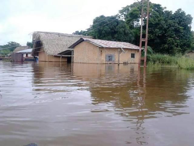 Innundaciones en Amazonas