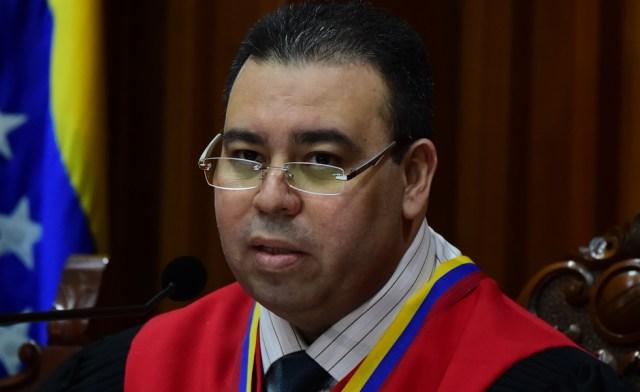 Juan José Mendoza, magistrado del TSJ / AFP