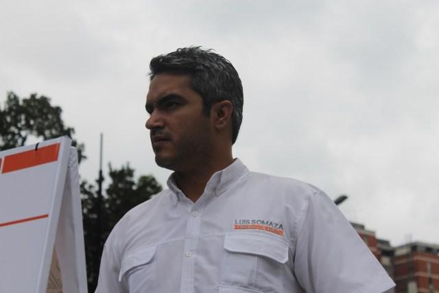 El concejal de Baruta, Luis  Somaza