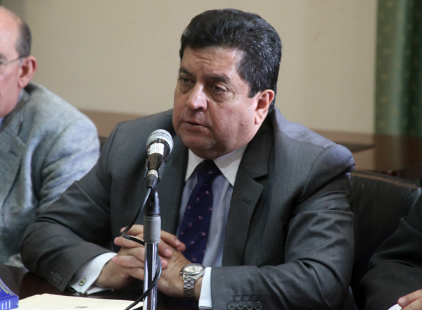 El diputado Edgar Zambrano (Unidad-Lara), presidente de la Comisión Permanente de Defensa y Seguridad de la Asamblea Nacional