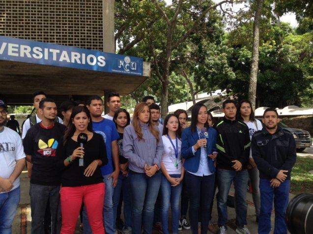 Mov Estudiantil UCV