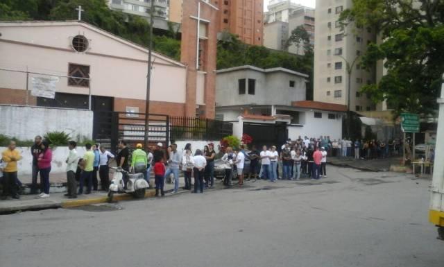 Vecinos de Palo Verde participan en la consulta popular / Foto: La Patilla