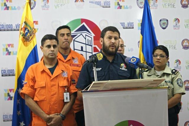 Alcalde David Smolansky. Foto: Nota de prensa