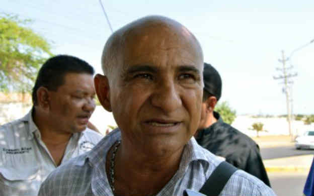 Foot: Ruben Esis, presidente de la Central Sindical Noroeste del estado Zulia / La Verdad