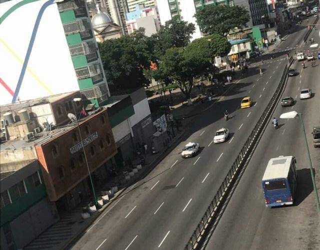 Foto: Comercios en San Martín se sumaron al Paro Nacional  / Cortesía