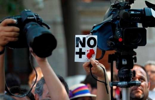 Violencia contra periodistas / Archivo