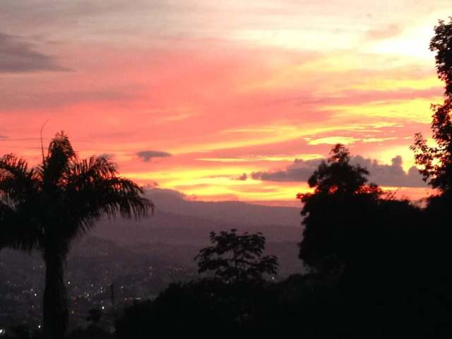 Atardecer en Caracas. Foto: Cortesía