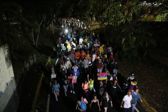 Marcha en honor a los caídos #13Jul / Foto: La Patilla