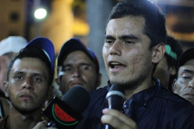 Los estudiantes libertarios tachirenses llegaron a Caracas tras 14 días de caminata. Foto: Régulo Gómez / LaPatilla.com
