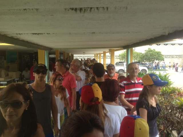 Punto soberano de Mañongo, estado Carabobo (Foto:  @wasimdanycosmo)
