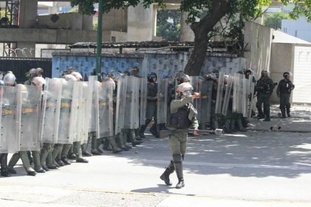 Represión #26Jul / Foto: Régulo Gómez