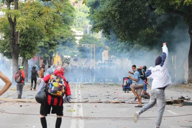 Olivares, confirmó que hay cuatro heridos por arma de fuego en Bello Campo. / Foto: La Patilla