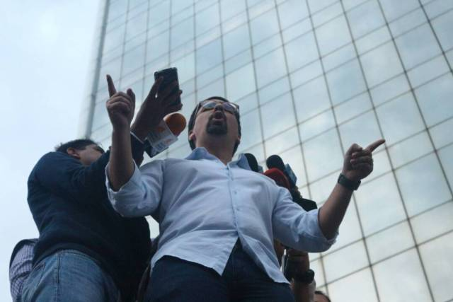 Freddy Guevara / Foto: Wil Jiménez