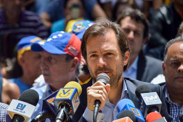 El alcalde del municipio Chacao, Ramón Muchacho