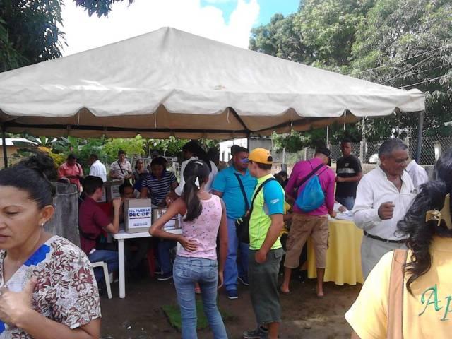 Foto: Apure expresó su voluntad en la consulta popular / Cortesía